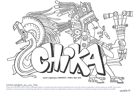 coloriage chika