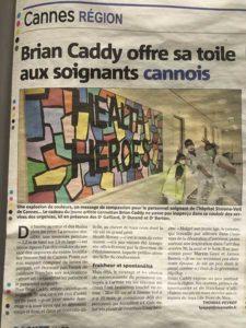 Brian Caddy Nice matin