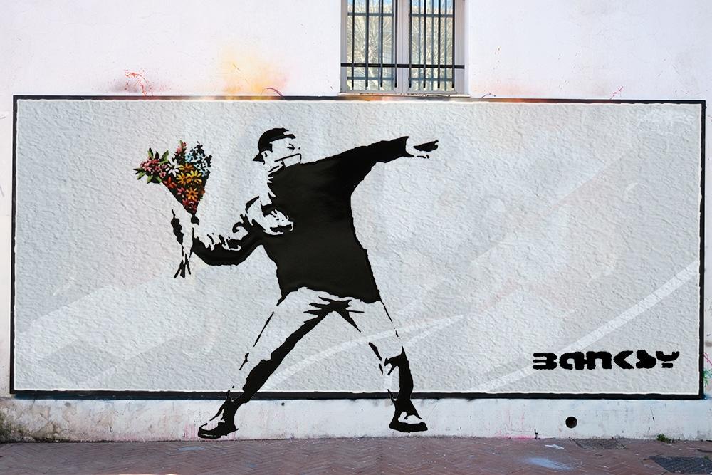 Le MUR de Mouans-Sartoux Banksy