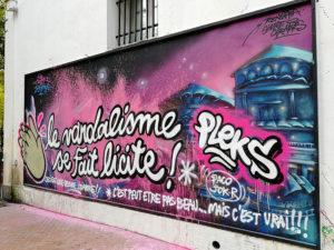 Le MUR de Mouans-Sartoux par Pleks